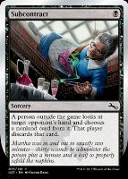 Unstable: Subcontract