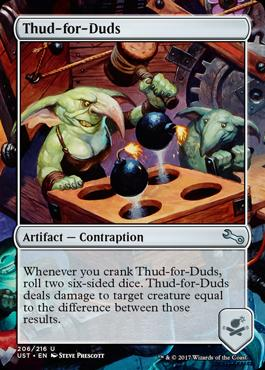 Unstable Foil: Thud-for-Duds