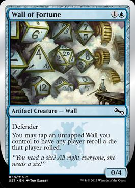 Unstable Foil: Wall of Fortune