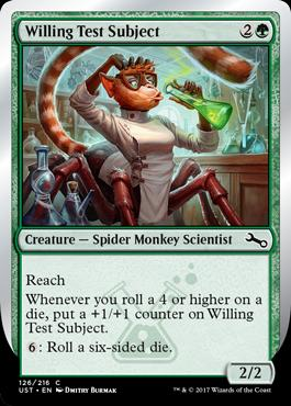 Unstable Foil: Willing Test Subject
