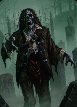 Unstable: Zombie Token (Full Art)