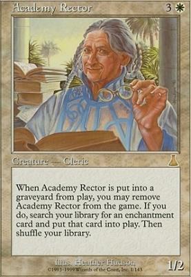 Urza's Destiny Foil: Academy Rector
