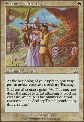 Urza's Destiny Foil: Archery Training
