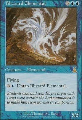 Urza's Destiny: Blizzard Elemental
