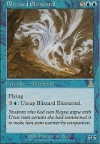 Urza's Destiny: Blizzard Elemental