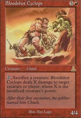 Urza's Destiny: Bloodshot Cyclops