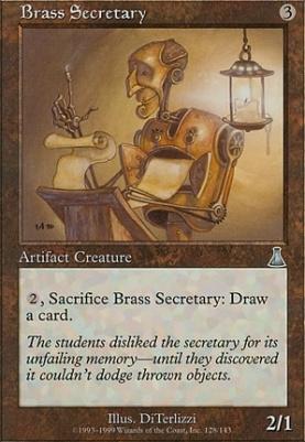 Urza's Destiny: Brass Secretary