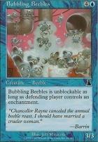 Urza's Destiny Foil: Bubbling Beebles
