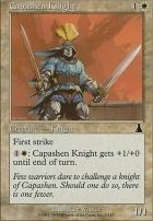 Urza's Destiny Foil: Capashen Knight