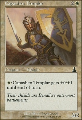 Urza's Destiny: Capashen Templar