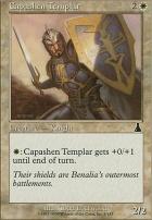 Urza's Destiny Foil: Capashen Templar