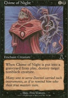 Urza's Destiny Foil: Chime of Night