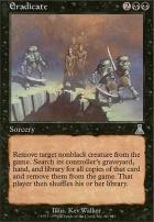 Urza's Destiny Foil: Eradicate
