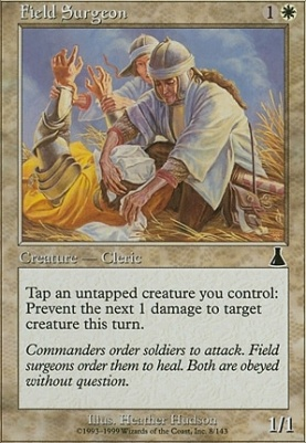 Urza's Destiny Foil: Field Surgeon