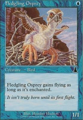Urza's Destiny Foil: Fledgling Osprey