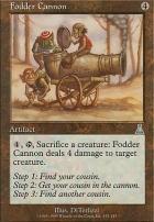 Urza's Destiny: Fodder Cannon