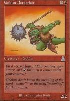 Urza's Destiny Foil: Goblin Berserker