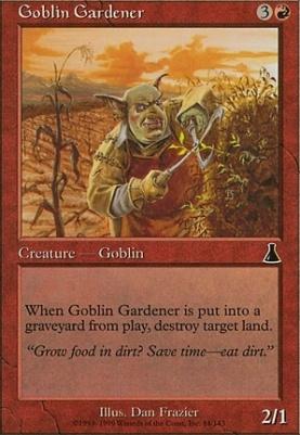 Urza's Destiny: Goblin Gardener