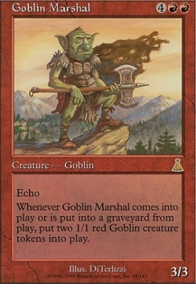 Goblin Marshal Urza S Destiny Card Kingdom