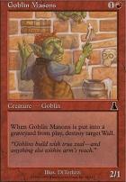 Urza's Destiny Foil: Goblin Masons