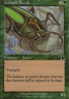 Urza's Destiny Foil: Goliath Beetle