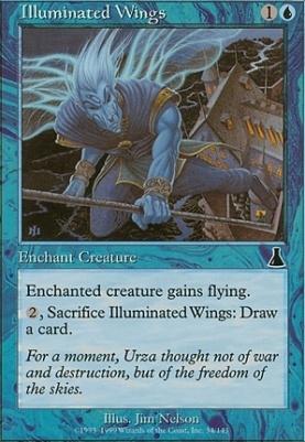 Urza's Destiny: Illuminated Wings