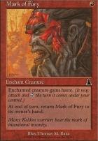 Urza's Destiny: Mark of Fury