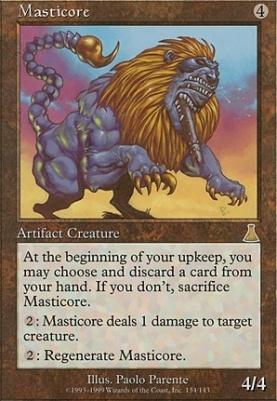 Urza's Destiny: Masticore