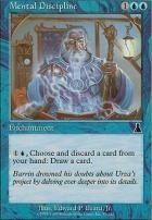 Urza's Destiny Foil: Mental Discipline