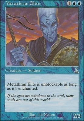 Urza's Destiny Foil: Metathran Elite