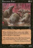 Urza's Destiny: Ravenous Rats