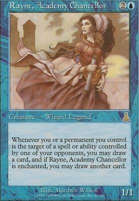 Urza's Destiny: Rayne, Academy Chancellor