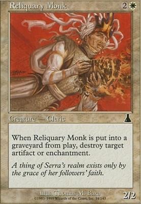 Urza's Destiny: Reliquary Monk