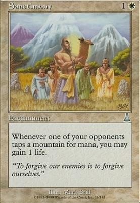 Urza's Destiny: Sanctimony
