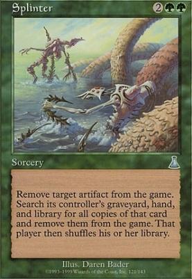 Urza's Destiny: Splinter