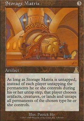 Urza's Destiny: Storage Matrix