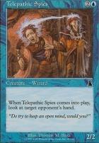 Urza's Destiny Foil: Telepathic Spies