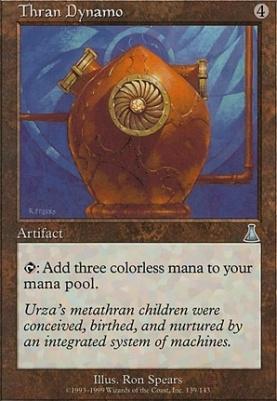 Urza's Destiny: Thran Dynamo