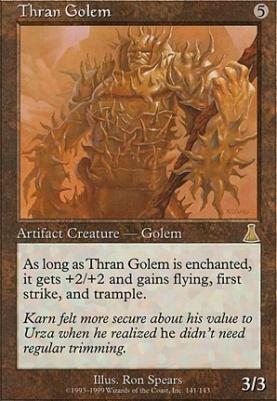 Urza's Destiny: Thran Golem