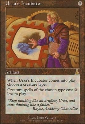 Urza's Destiny: Urza's Incubator