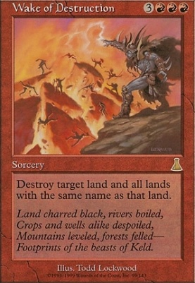 Urza's Destiny: Wake of Destruction