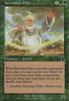 Urza's Destiny: Yavimaya Elder