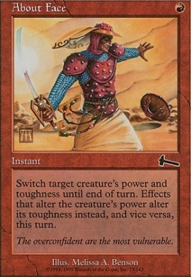 Urza's Legacy: About Face