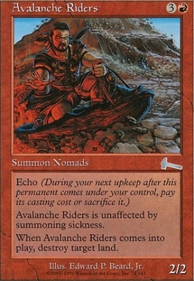 Urza's Legacy: Avalanche Riders