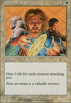 Urza's Legacy Foil: Blessed Reversal