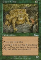 Urza's Legacy Foil: Bloated Toad