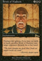 Urza's Legacy Foil: Brink of Madness