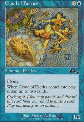 Urza's Legacy: Cloud of Faeries