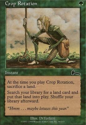 Urza's Legacy: Crop Rotation