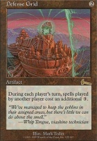 Urza's Legacy Foil: Defense Grid